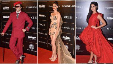 Vogue Women Of the Year 2019 Winners' List: Katrina Kaif, Ananya Panday Win Top Honours, Ranveer Singh Bags Man of the Year
