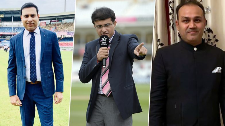 Sourav Ganguly Set to Become the New BCCI President, From Virender Sehwag to VVS Laxman, Cricket Fraternity Showers Heartfelt Wishes on 'Dada'