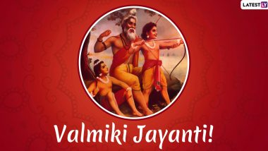 Valmiki Jayanti 2019 Date: Know History, Significance and Celebrations of Pragat Diwas