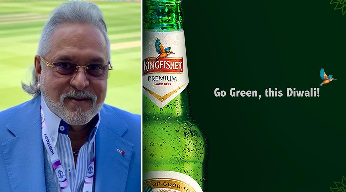 Vijay Mallya Tweets 'Go Green' on Diwali 2019; Gets Trolled by Twitterati; Check Hilarious Jokes And Funny Memes