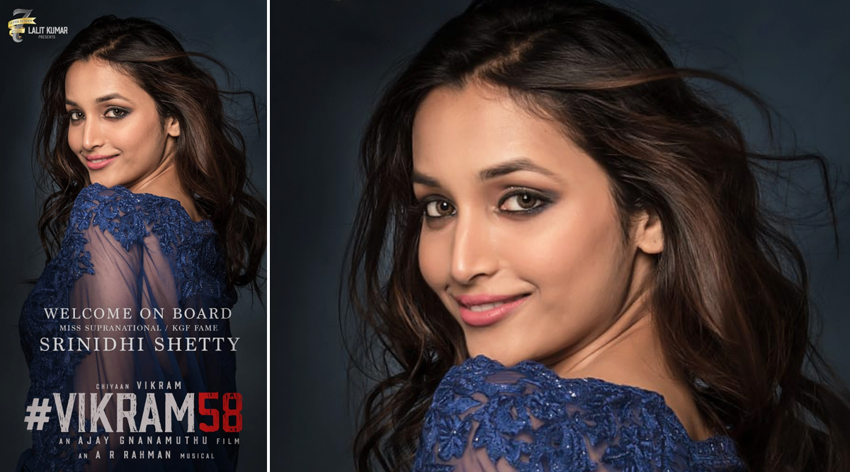 Vikram 58: KGF Actress Srinidhi Shetty Roped In to Star Opposite Chiyaan Vikram in This Tamil Film