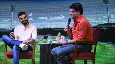 Virat Kohli Happy to Work Closely with BCCI President Sourav Ganguly