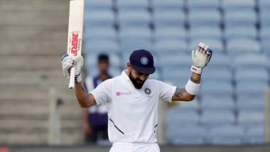 Virat Kohli Fastest Captain to Score 5000 Test Runs, Overtakes Ricky Ponting to Reach Landmark During Historic IND vs BAN D/N Test Match