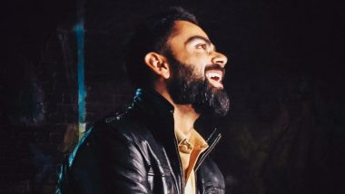 Virat Kohli Is Smiling Gleefully in This Photo With Caption 'Don't Worry Be Happy'! View Pic of Indian Skipper Looking Dapper in Leather Jacket