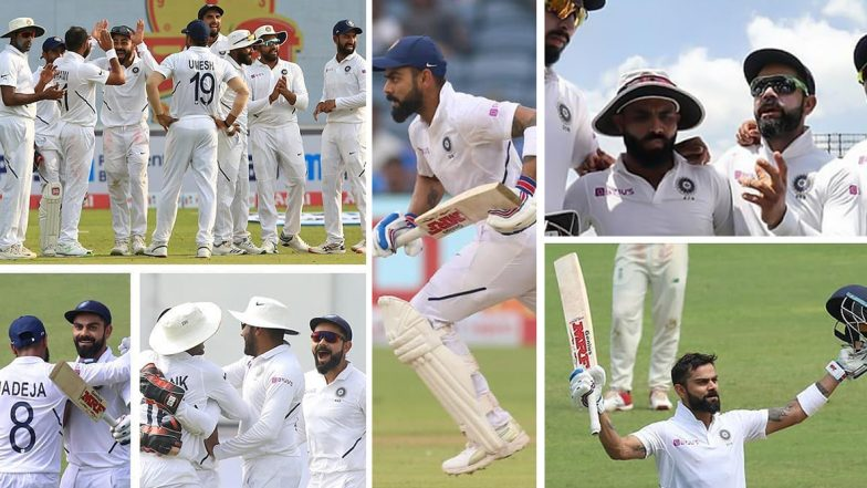 Virat Kohli Shares Amazing Pictures With Teammates From IND vs SA 2nd Test 2019