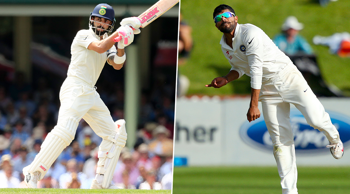 Virat Kohli Clean Bowled By Ravindra Jadeja in The Nets, and Twitter Has a Lot to React to Indian Skipper's Disturbed Furniture! (Watch Video)