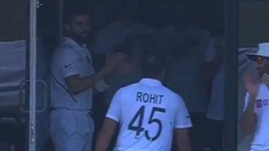 IND vs SA 1st Test 2019: Virat Kohli Hails 'Brilliant' Rohit Sharma, Mayank Agarwal and Bowlers