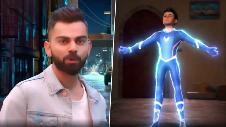 Super V Trailer Video: Virat Kohli Turns Into Teenage Superhero For An Animated Series, Premiere Episode Will Telecast on Indian Skipper's 31st Birthday