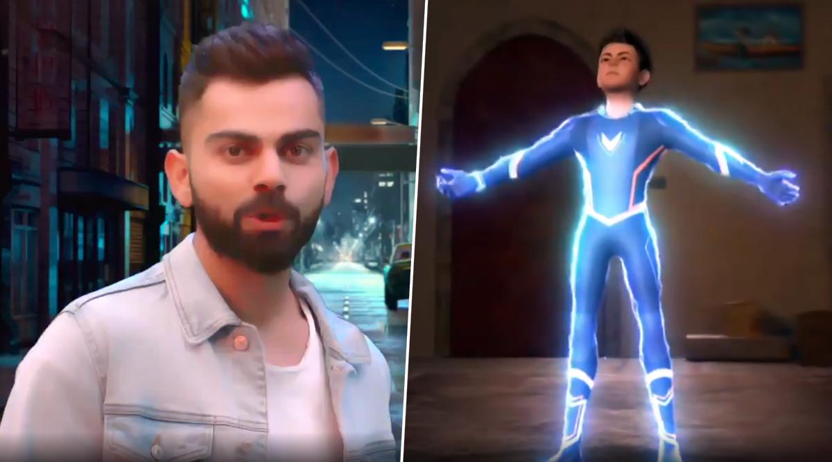 Super V Trailer Video: Virat Kohli Turns Into Teenage Superhero For An Animated Series, Premiere Episode Will Telecast on Indian Skipper's 31st Birthday