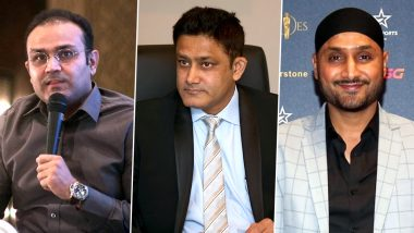 Anil Kumble Turns 49: Virender Sehwag, Harbhajan Singh and Others From Cricket Fraternity Extend Birthday Wishes to 'India's Greatest Match-Winner'
