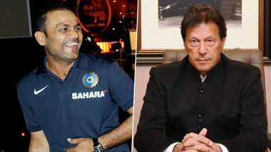 Virender Sehwag on Imran Khan Speech at UNGA: This Man Inventing New Ways to Humiliate Self (Watch Video)