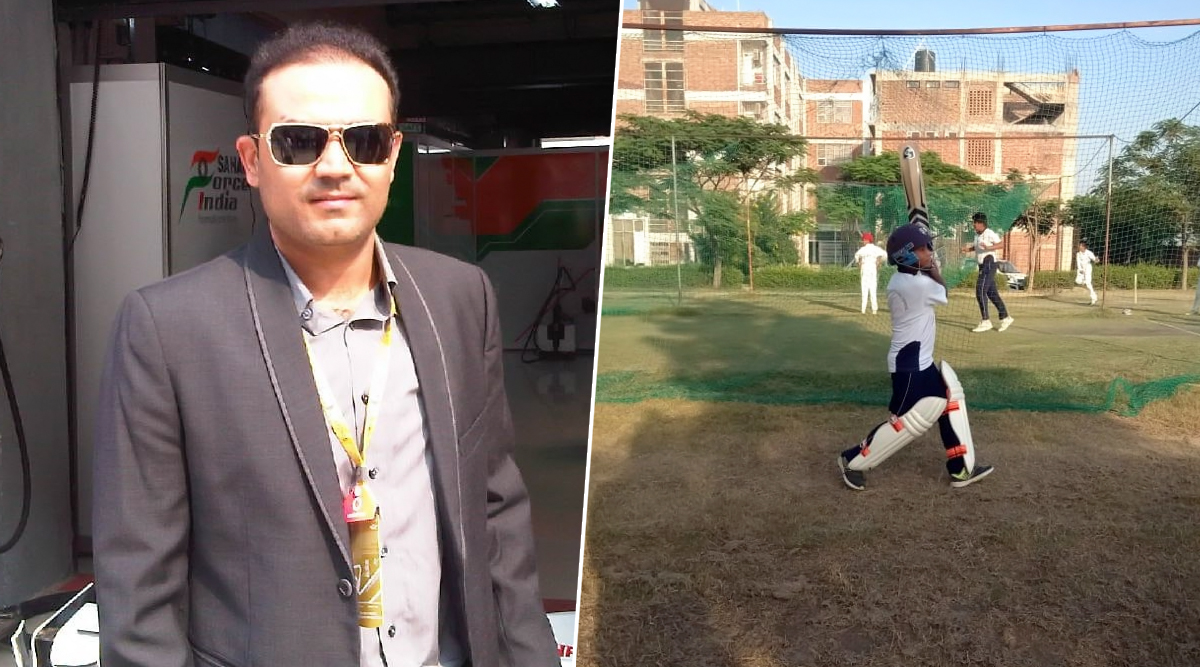 Virender Sehwag Provides For Kids Who Lost Their Fathers in Pulwama Attacks, Twitterati Hails Viru's Contribution Towards 'Sons of Heroes' (View Pics)