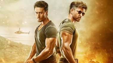 War Box Office Collections: Hrithik Roshan and Tiger Shroff's Action Entertainer Earns Rs 128.85 Crores, All Set to Cross the 150 Crore Mark on Sunday