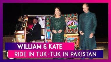 William & Kate Ride In Tuk-Tuk In Pakistan, Duchess Of Cambridge Impresses With Traditional Outfits
