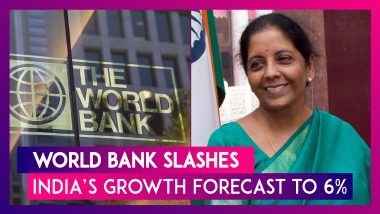 World Bank Slashes India's Growth Forecast To 6% For 2019-20, Warns Of Severe Economic Slowdown