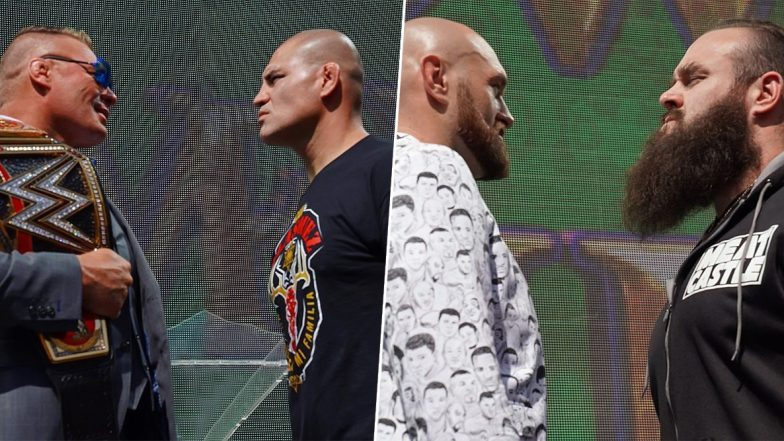 WWE Crown Jewel 2019 Oct 31, 2019 Live Streaming, Preview & Match Card: Brock Lesnar vs Cain Velasquez, Tyson Fury vs Braun Strowman & Other Matches to Watch Out For
