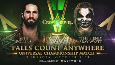 WWE Crown Jewel 2019: Seth Rollins to Face The Fiend For Universal Title in Falls Count Anywhere Match, Team Hogan vs Team Flair & Other Exciting Matches to Watch Out For!