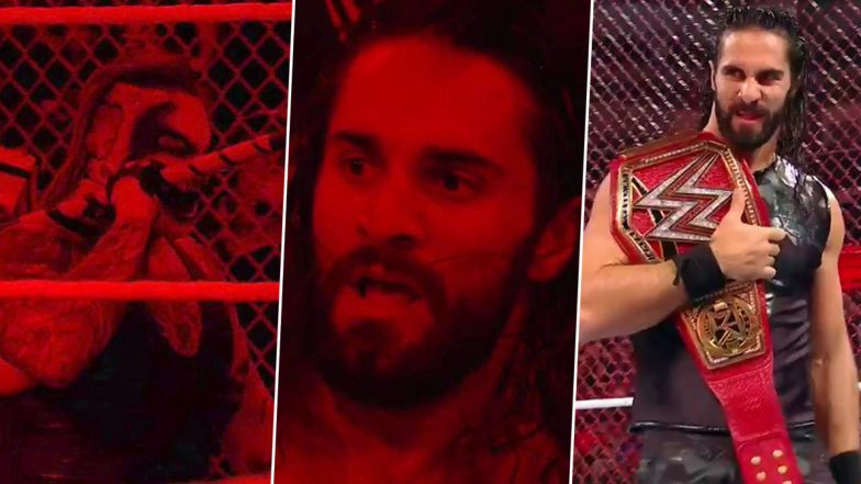 WWE Hell in a Cell 2019 Results and Highlights: Seth Rollins Still The Universal Champion, The Fiend Has the Last Laugh (View Pics & Videos)