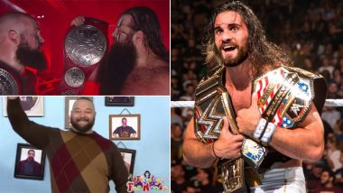 WWE Raw Oct 14, 2019 Results and Highlights: Seth Rollins Burnt Bray Wyatt's Firefly Fun House, The Viking Raiders Become New Raw Tag Team Champions (Watch Videos)