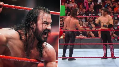 WWE Raw Oct 21, 2019 Results and Highlights: Seth Rollins Wins a Tough Fight Against Humberto Carrillo, Drew McIntyre Selected as Member of Team Flair (Watch Videos)