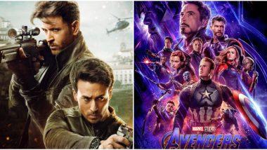 War Box Office Report: Hrithik Roshan-Tiger Shroff's Actioner Earns Rs 53.35 Crore, Beats Avengers Endgame on Day 1