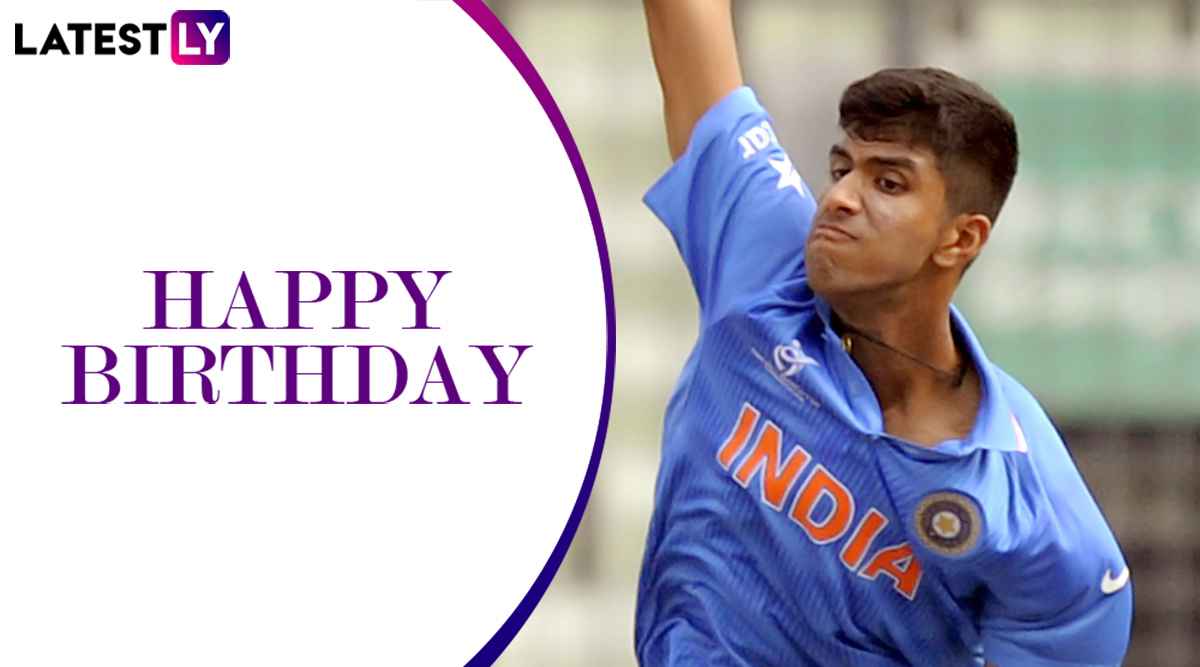 Happy Birthday Washington Sundar! 5 Lesser-Known Things to Know About the Indian Batting All-Rounder