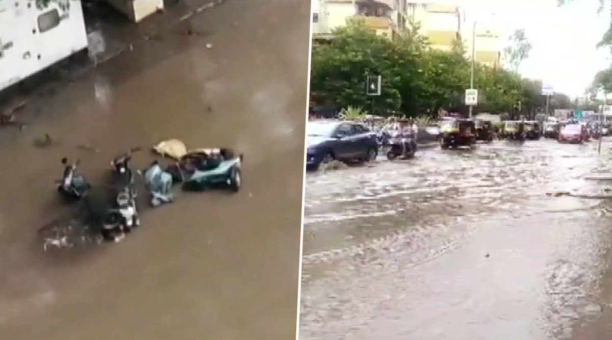 Pune Rains: Heavy Rainfall Causes Water-Logging in Parts of City, IMD Predicts More Rains in Coming Days