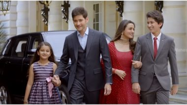 Mahesh Babu's New Commercial with Wife Namrata Shirodkar and Kids will Tug at Your Heartstrings (Watch Video)
