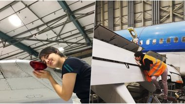 Berlin Woman Claims She's in Love With an Aircraft and Wants to Turn This 5-Year-Long Relationship Into Marriage (View Pics)