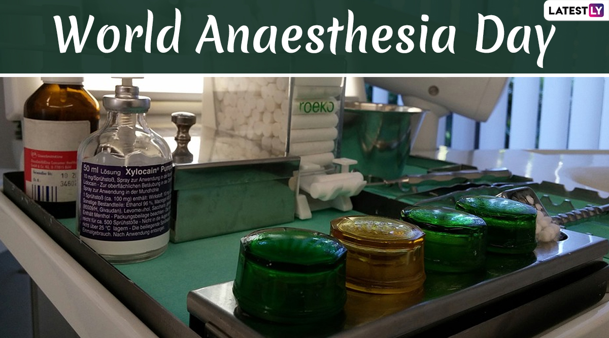World Anaesthesia Day 2019 Date: Know History and Significance of This Important Day in Medicine