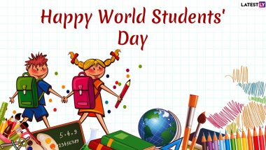 Happy World Students' Day 2019 Images & APJ Abdul Kalam Quotes HD Wallpapers for Free Download Online: Wish Happy Students' Day With WhatsApp Stickers and GIF Greetings!