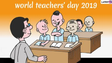 World Teachers' Day 2019 Date: Know History, Significance and Theme of Day Adopted by UNESCO to Respect All Mentors