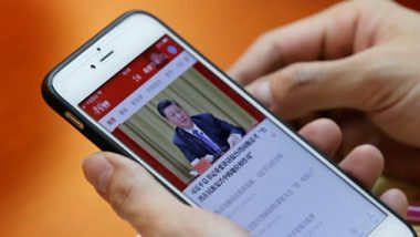 Xi Jinping App, 'Study the Great Nation', Allows China to Access 100 Million User's Mobile Phones Data: Report