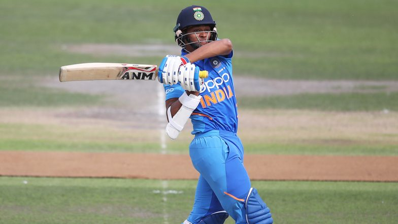 India U19 vs Sri Lanka U19, ICC U19 CWC 2020 Match Result: Priyam Garg, Yashasvi Jaiswal & Dhruv Jurel Lead IND to Win