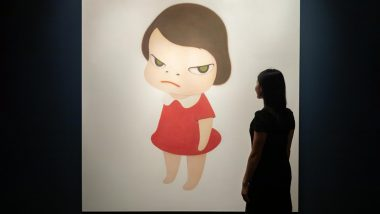 Japanese Artist Yoshitomo Nara's Cartoon Girl Sold For 25 Million at Sotheby's Hong Kong Auction!