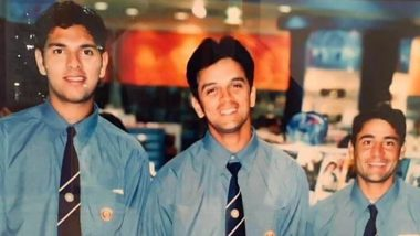 Yuvraj Singh Take a Walk Down Memory Lane, Posts Throwback Picture With Rahul Dravid and Vijay Dahiya From His First Tour With India