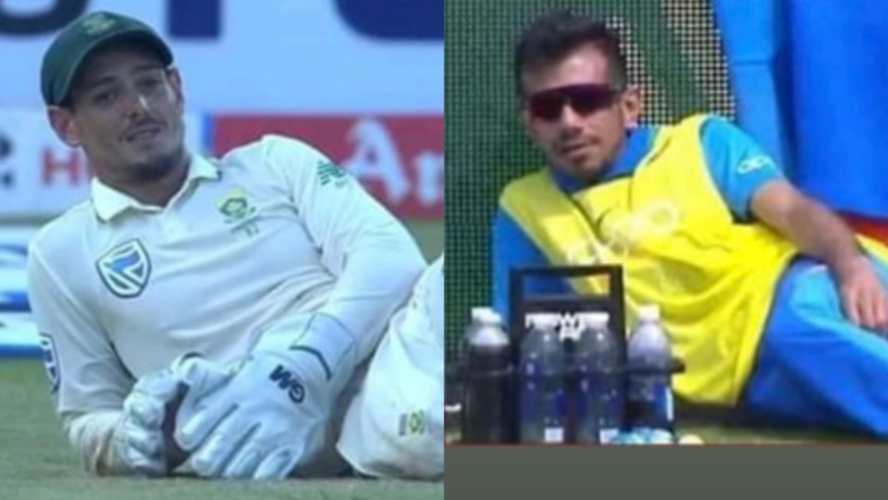 Quinton de Kock Poses like Yuzvendra Chahal, Indian Spinner Hilariously Trolls his Former RCB Teammate With Meme