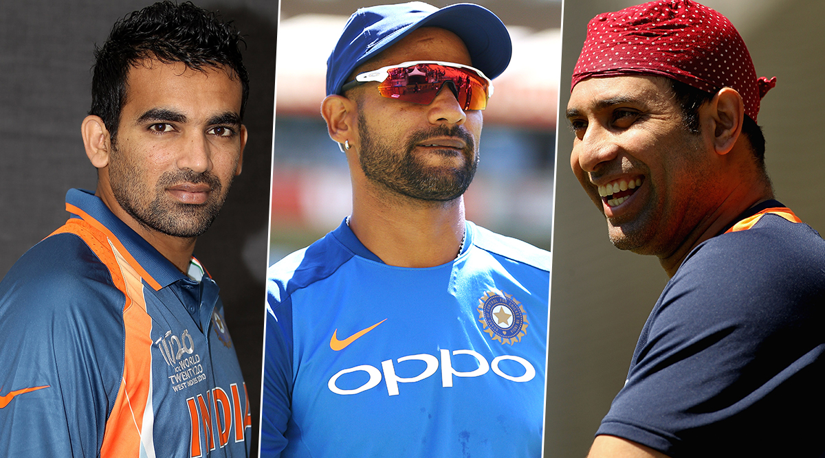 Zaheer Khan Turns 41: VVS Laxman and Shikhar Dhawan Wish Former Indian Pacer on His Birthday