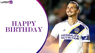 Zlatan Ibrahimović Birthday Special: Top 3 Goals by Swedish Striker and LA Galaxy Captain is For Every Football Fan Out There!