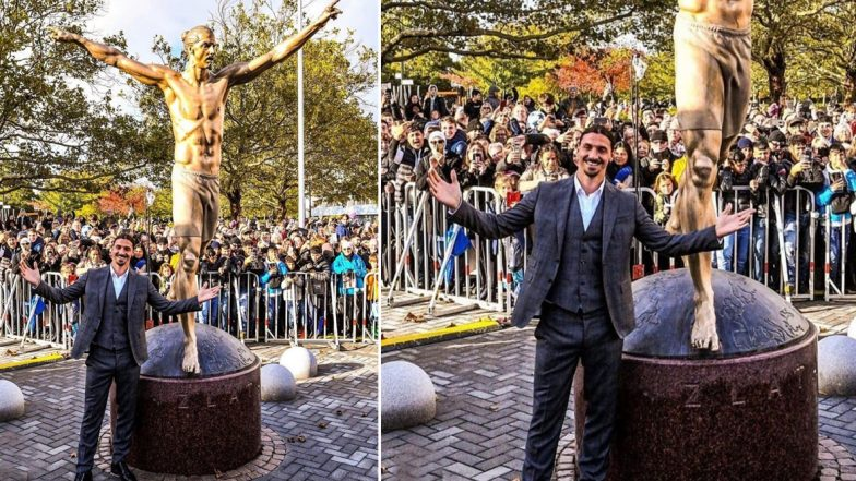 Zlatan Ibrahimovic Immortalised With Statue in Sweden