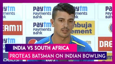 Ind vs SA: There Was Relentless Pressure From Indian Bowlers, Says Proteas Batsman Zubayr Hamza