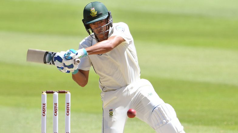 Zubayr Hamza Slams His Maiden Test Fifty on the Day 3 of the 3rd India vs South Africa Test 2019
