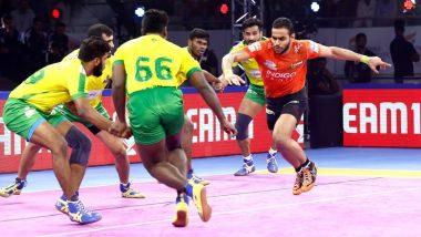 PKL 2019 Match Result: U Mumba Edge Past Tamil Thalaivas 36–32 in Thriller