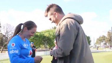 Amanda Jade-Wellington's Boyfriend Proposes Her on Field; Australian Woman Cricketer Overwhelmingly Accepts! Watch Video