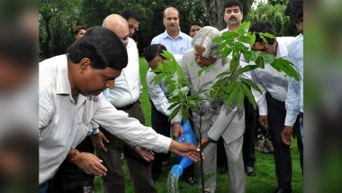 #PlantForKalam Trends on Twitter on APJ Abdul Kalam's Birth Anniversary As People in Tamil Nadu Plant Trees in the Honour of Former President