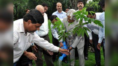 #PlantForKalam Trends on Twitter on APJ Abdul Kalam's Birth Anniversary As People in Tamil Nadu Plant Trees in the Honour of Former President