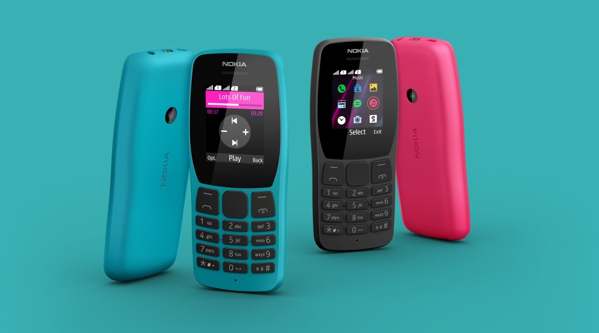 Nokia 110 Feature Phone Launched in India at Rs 1599; Check Features & Specifications