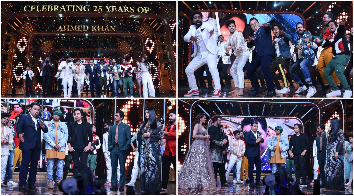 Nach Baliye 9: Ahmed Khan Completes 25 Years In The Industry, Choreographers Pay Him A Grand Tribute