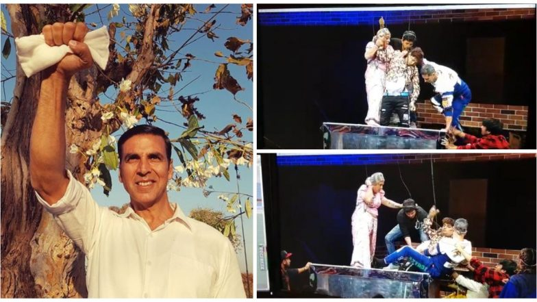 Netizens hail Akshay Kumar for rescuing artist who fainted on the set