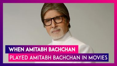 Amitabh Bachchan Birthday Special: 10 Times Big B Played Himself On Screen